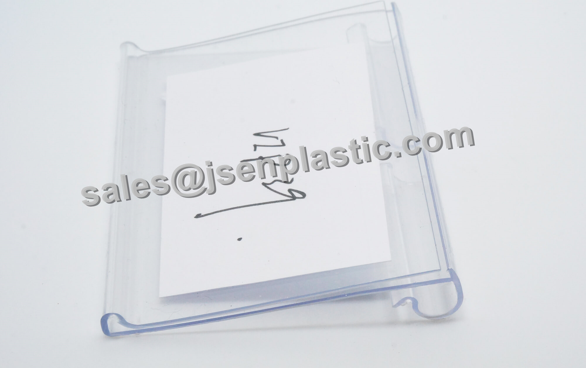 Plastic label holder for wire VIP39
