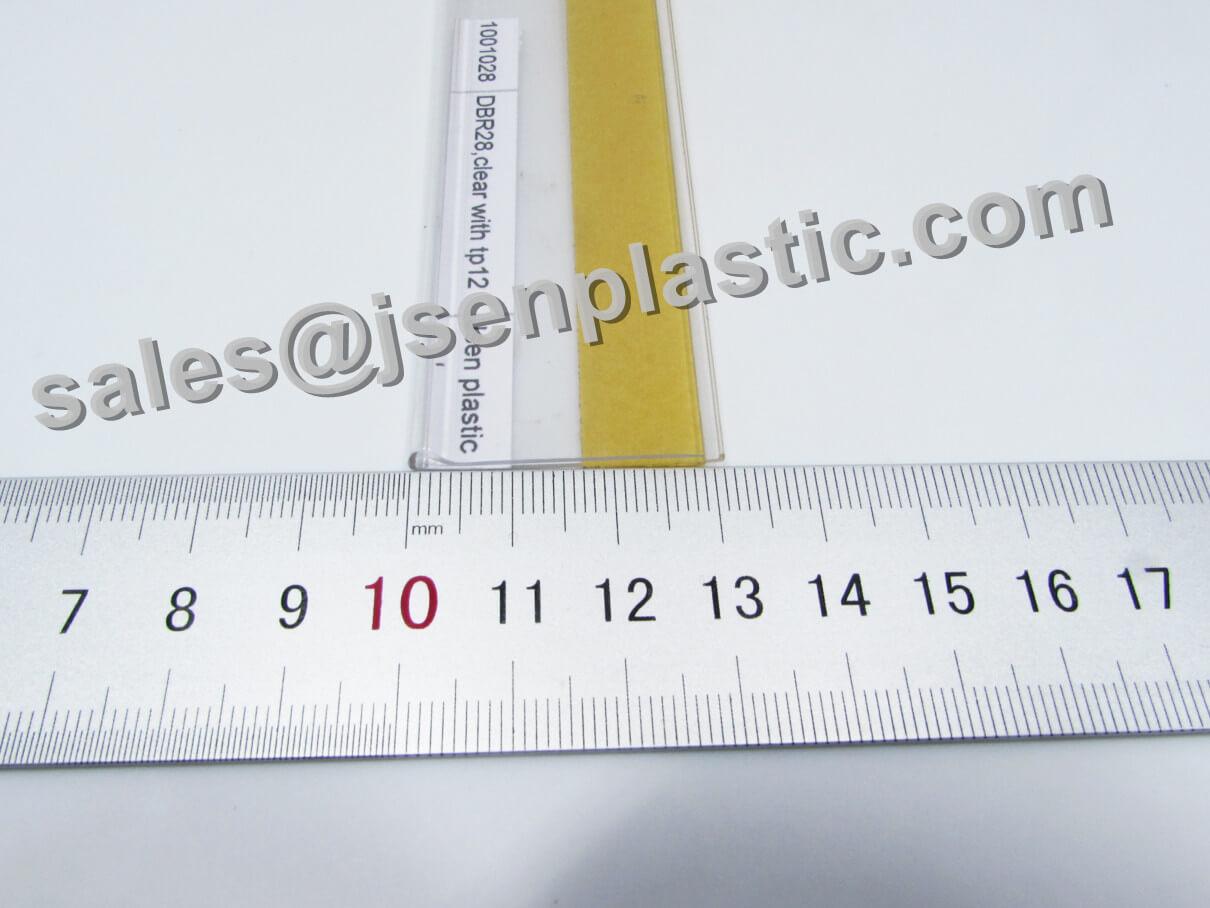 plastic label holder 1001028 DBR28 01 - Plastic label holder DBR28